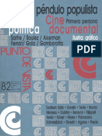 Revista Punto de Vista- Gorelik Sobre Vanguardias