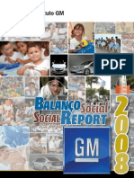 GM Relatorio Social 2008