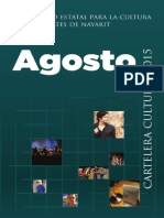 Cartelera Cultural Digital Agosto 2015