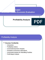 Chapter 5 Profitablity Analysis (2003)