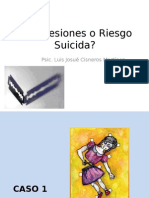 Autolesiones o Riesgo Suicida