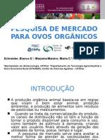 Pesquisa de Mercado - OVOS ORGANICOS