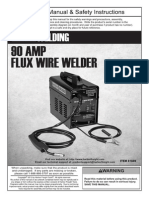 90 AMP FLUX WIRE WELDER