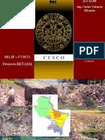 proyecto retama - Cusco