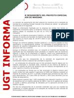Comision de Seguimiento Del Proyecto Especial Andalucia