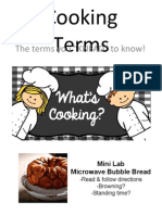 fs- cooking terms no videos