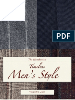 The Handbook to Timeless Men's Style