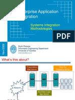 Enterprise Application Integration - System Integration Methods