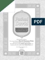 Pachad David Bamidbar