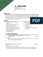 resume draft3 - winny wilson