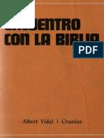 Vidal, Albert - Encuentro Con La Biblia