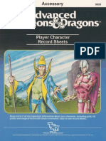 AD&D 1st - 9028 - REF2 - Player Character Record Sheets