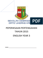 english year 3, mid year