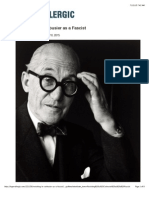 Revisiting Le Corbusier as a Fascist