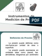 Instrumentos de Medicion de Presion