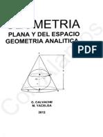 Calvache - Geometria Plana y Del Espacio
