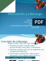 PPT Liderazgo y Motivacióngo