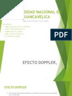 biofisica optica, efecto doppler
