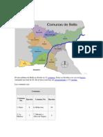 Comunas de Bello, Itagui y Envigado