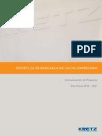 Informe anual Empresa