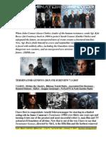 Terminator Genisys (2015) Film Review By David L. $Money Train$ Watts - FuTurXTV & Funk Gumbo Radio -  7-3-2015
