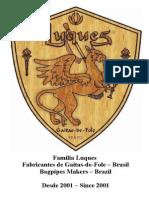 Catalogo-fevereiro-2015 Luthier de Gaita de Fole No Brasil