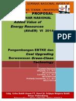 Proposal Seminar Nasional AVoER VI 2014 Sri Haryati