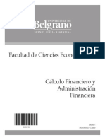 3919 - Calculo Financiero - Di Ciano