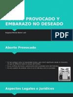 Aborto Provocado y Embarazo No Deseado