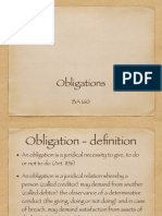 Introduction to Obligations