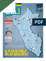 El Plan de Vuelo de Las Aerolineas Peruanas