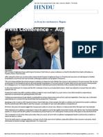 Rajan Links More Easing to Lower Bank Rates, Monsoon, Inflation - The Hindu
