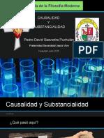 Pedro Saavedra-Causalidad y Substancialidad