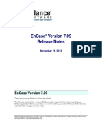Encase Examiner v709 Release Notes