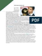 Biografia de Cristiano Ronaldo