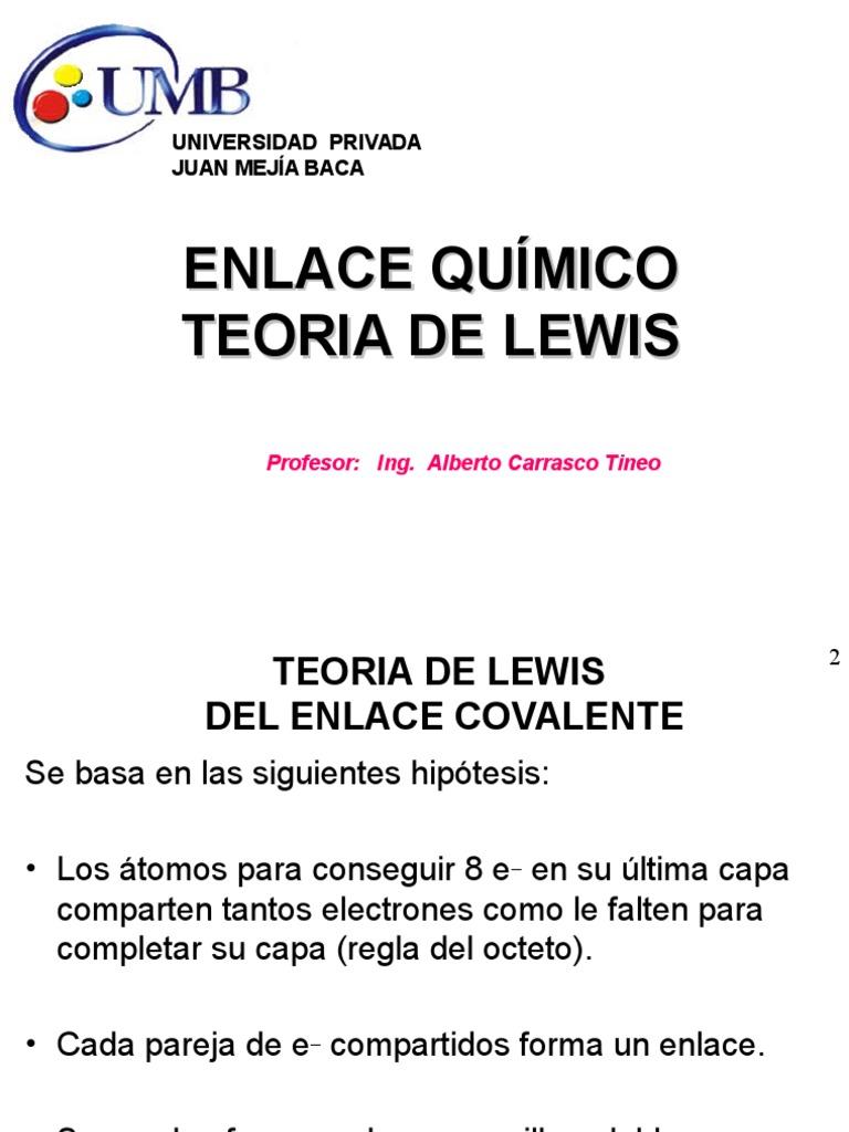 Clase Estructura de Lewis