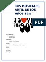 GÉNEROS MUSICALES A PARTIR DE LOS AÑOS 90.docx