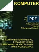 komponen-komponen dalam komputer