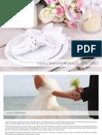 Wedding Compendium Menu Jupiters Townsville