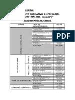 Cuadro Programatico Final 2012-II