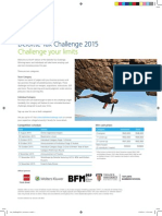 Tax Challenge2015 A4 Poster