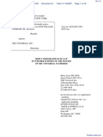 Conradt v. NBC Universal, Inc. - Document No. 21