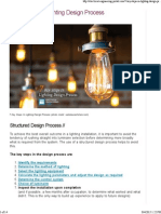 7 Key Steps in Lighting Design Process _ EEP