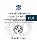 GNLU Moot Problem - 2015
