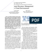 Gossip-based Resource Management for Cloud Environments