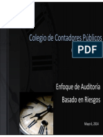 02 Enfoque de Auditoria BasadoAUDITORIA en Riesgos
