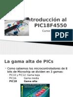 Introducción Al PIC18F4550