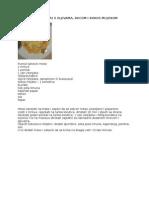 Puretina s Gljivama i Kokos Mlijekom