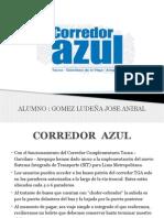Corredor Azul de Lima metropolitana -  curso ingeniería de transportes