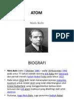 • Niels Bohr (Lahir 7 Oktober 1885–wafat